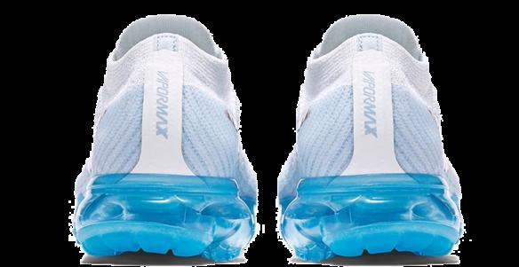 Фото Nike Air VaporMax Flyknit Белые - 2