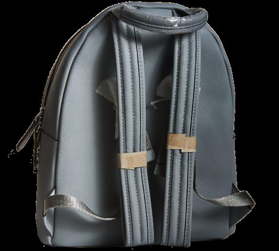 Фото серный кожаный рюкзак - 2